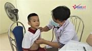 1.700 học sinh phường Hạ Đình được khám sức khỏe sau vụ cháy Rạng Đông