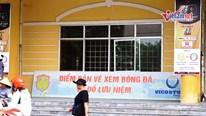 Đìu hiu người mua vé xem trận Nam Định - TP.HCM sau vụ đốt pháo sáng