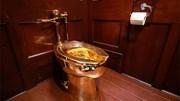 Chưa kịp đưa vào sử dụng, toilet bằng vàng giá triệu đô đã bị đánh cắp