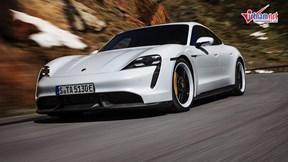 Mê mẩn với mẫu xe điện đầu tiên của Porsche, chờ đợi ngày về Việt Nam