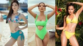 Đọ body bốc lửa dàn người đẹp Việt thi quốc tế năm 2019