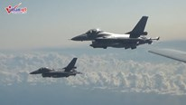 Dàn chiến đấu cơ 5 nước áp sát máy bay ném bom chiến lược của Nga