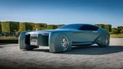 Mẫu xe điện không cần người lái của Rolls-Royce