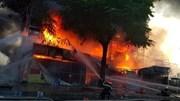Cháy dữ dội trung tâm điện máy ở Hải Phòng, toàn bộ hàng bị thiêu rụi