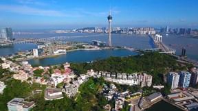 Thành phố đặc biệt được xây dựng như một khu vườn ở Macau