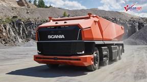 Ra mắt mẫu xe tải hạng nặng tự lái đầu tiên trên thế giới