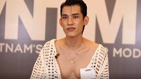 Nam Trung thất vọng vì thí sinh Next Top mặc 'lưới cá' che quần ngắn
