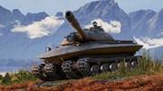 Xe tăng hạng nặng bị 'đắp chiếu' giống hệt UFO của Liên Xô
