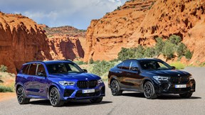 Bộ đội BMW X5 M và X6 M trình làng với khối động cơ mạnh mẽ 617 mã lực