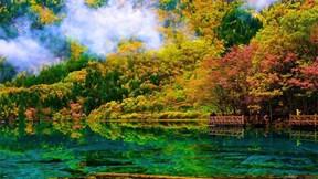 2 năm sau động đất, vườn địa đàng Cửu Trại Câu lại đẹp tựa thiên đường