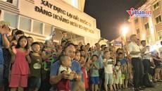 Hàng ngàn người dân Thủ đô náo nức xem chiến sỹ CAND biểu diễn kèn