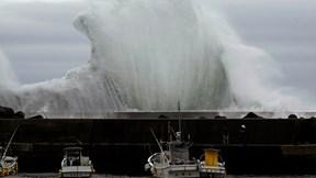 Siêu bão mạnh nhất 60 năm qua tấn công Nhật Bản, gây hàng chục thương vong
