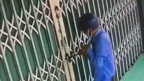 Trộm ngang nhiên phá khóa vào nhà khoẳng sạch tài sản trong két sắt