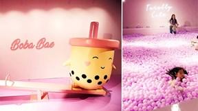 Bảo tàng trà sữa: Điểm đến mới ở Singapore hút hàng nghìn fan hâm mộ
