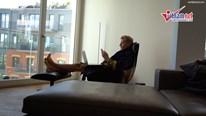 Bên trong căn hộ hiện đại và huyền bí của cơ trưởng trẻ ở Berlin