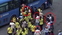 Các nạn nhân bị băng móc túi Suối Tiên đánh tơi bời