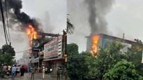 Quảng Bình: Cháy lớn ở siêu thị điện máy thiêu rụi nhiều hàng hóa