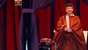 Xem nghi lễ đăng quang cổ xưa hiếm có của Nhật hoàng Naruhito