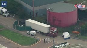 Anh: Phát hiện 39 thi thể trong xe container gây chấn động