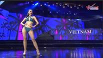 Á hậu Kiều Loan bắt chéo áo, diễn bikini bốc lửa ở Miss Grand Int 2019