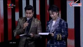 MC Nguyên Khang công bố nhầm tên quán quân The Voice Kids