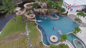Bên trong những biệt thự của giới siêu giàu có cả công viên nước kinh dị