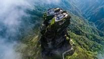 Khám phá 2 ngôi chùa song sinh ẩn mình trong mây trên đỉnh núi thiêng