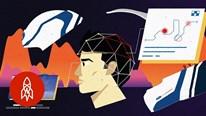 Mũ bảo hiểm tích hợp khoa học thần kinh và AI để hỗ trợ lái xe