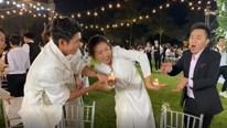 Thu Minh, Trấn Thành 'múa lửa' quậy tưng bừng sau đám cưới Đông Nhi