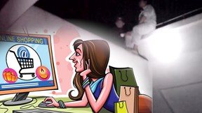 Chồng định nhảy lầu tự vẫn vì thói mua hàng online quá đà của vợ