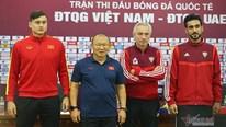 Phản ứng của thầy Park khi HLV UAE khen Việt Nam mạnh nhất bảng G