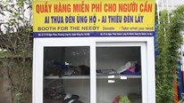 Tủ quần áo từ thiện ở Hà Nội hết sạch ngày đầu đông