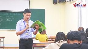 Thầy giáo trẻ mê múa bụng kiên cường đối mặt với ung thư