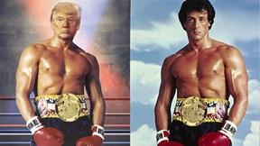 Thông điệp thầm lặng của ông Trump khi đăng ảnh 'chế' của mình trên Twitter