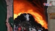 Hà Nội: 1.000 mét vuông kho xưởng bị thiêu rụi