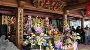 Dâng hương tưởng niệm ngày hoá của Đức Thánh Tản Viên Sơn