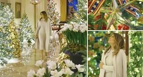 Nhà Trắng 'khoác áo mới' lộng lẫy chào Giáng sinh 2019