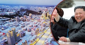 Khánh thành thị trấn siêu xinh ở chân núi thiêng, Triều Tiên muốn nói gì?