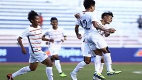 Nhấn chìm Malaysia, U22 Campuchia lần đầu qua vòng bảng SEA Games