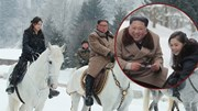 Đệ nhất phu nhân Triều Tiên 'gây bão' với hình ảnh cưỡi ngựa trên núi tuyết