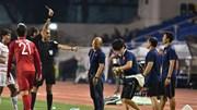 Thầy Park giải thích lí do bị nhận thẻ vàng trận gặp U22 Campuchia