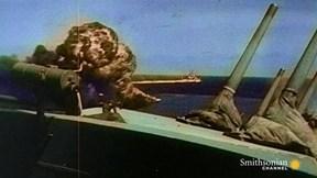 Xem tàu ngầm Mỹ đánh bay tàu hỏa Nhật Bản trong Thế chiến 2