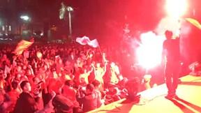 Hàng triệu CĐV hò reo ăn mừng bàn thắng của U22 Việt Nam ở CK SEA Games