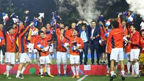 U22 Việt Nam tự hào nhận HCV SEA Games lịch sử