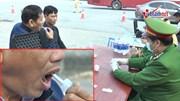 CSGT mở cao điểm ATGT, lần đầu test ma túy tại chỗ bằng nước bọt