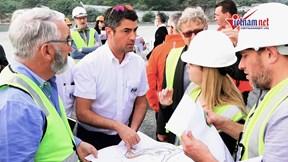 Giám đốc F1 bất ngờ trước tiến độ thần tốc của đường đua F1 Hà Nội