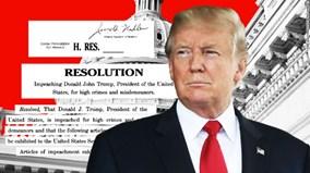 Thế giới 7 ngày: Ông Trump bị luận tội