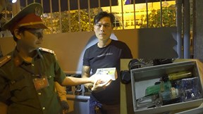 Lực lượng 911 Đà Nẵng bắt gọn nhiều đối tượng dương tính với ma túy