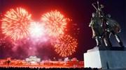 Tạm gác căng thẳng hạt nhân, Triều Tiên bắn pháo hoa hoành tráng chào 2020