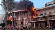 Cháy Bệnh viện Nhi Hải Dương, nhiều người ôm con tháo chạy
